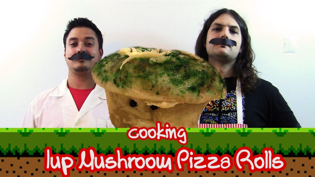 1up Mushroom Pizza Rolls | Geek Taste #3