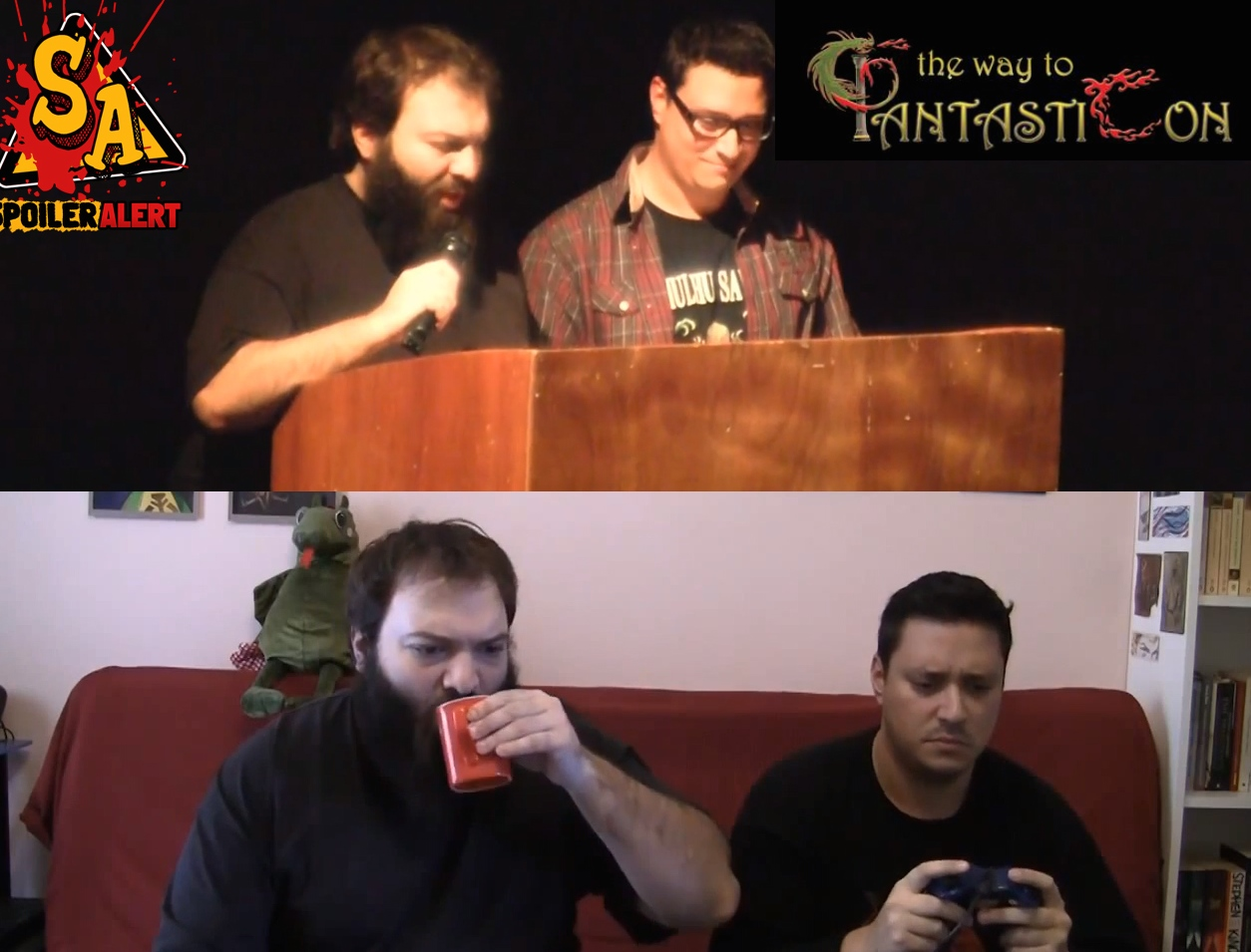 On the Spot – Παρουσίαση Conan Video Games – ΦantastiCon  eikoidio