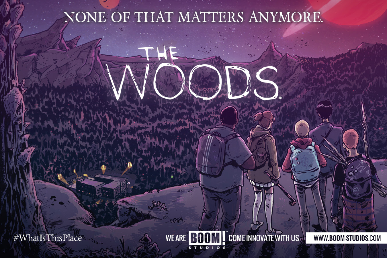 the woods tv