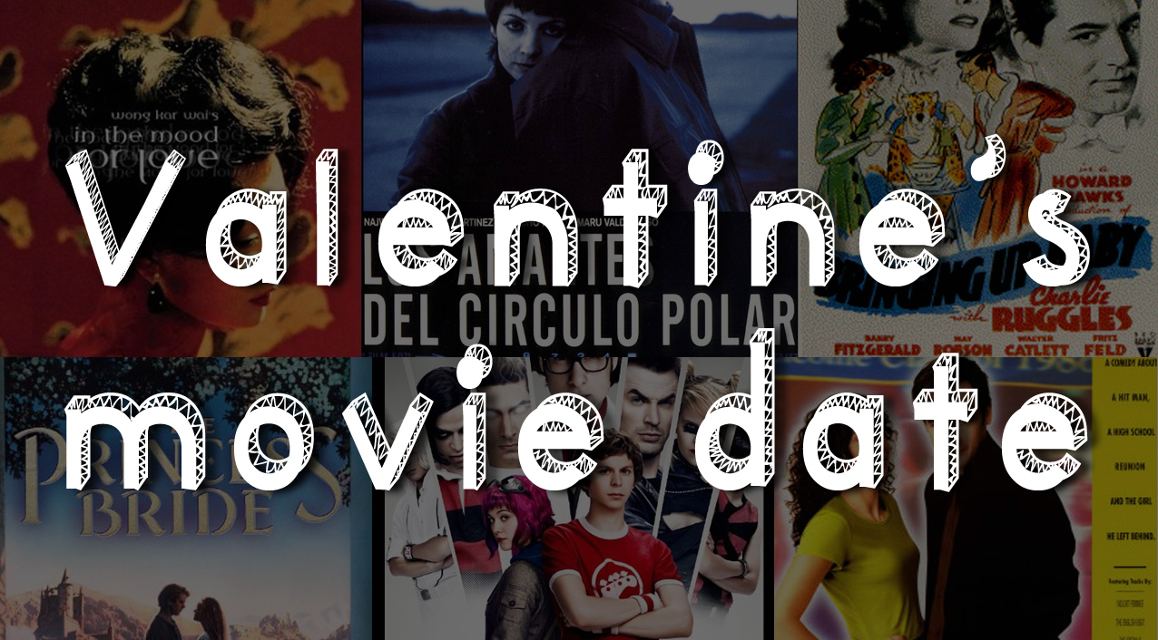 Valentine's romantic movie date