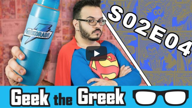 Geek the Greek – S02E04 – Star Trek Tarantino, Justice League CGI, Ready Player One