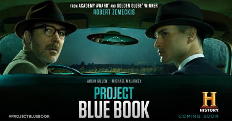 Project Blue Book – Trailer : Παντρεύοντας Επ. Φαντασία και πραγματικότητα στα 50's