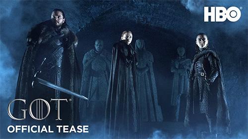 To Teaser Trailer της τελευταίας σεζόν του Game of Thrones μας παγώνει το αίμα!